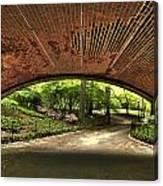 Central Park Underpass Canvas Print