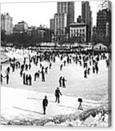 Central Park Winter Carnival Canvas Print