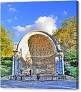 Central Park's Naumburg Bandshell Canvas Print