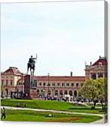 Central Railway Station Zagreb Canvas Print