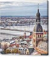 Central Riga Canvas Print