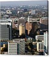 Central San Jose California Canvas Print