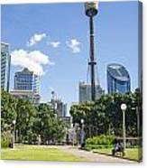 Central Sydney Park In Australia Canvas Print