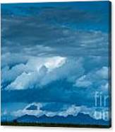Central Valley Clouds Canvas Print