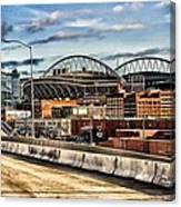 Century Link Field Seattle Washington Canvas Print
