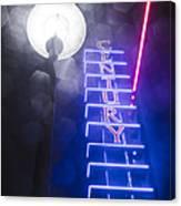 Century Neon Canvas Print