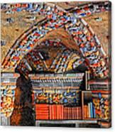 Ceramic Pillars Canvas Print