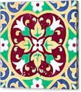 Ceramic Tile Closeup Canvas Print