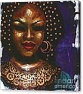 Ceremonial Dress Canvas Print