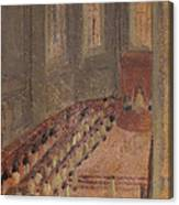 Ceremony Of Ordination At Lyon Cathedral Canvas Print