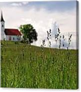 Cerkev Sv Janeza Evangelista Canvas Print