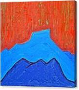 Cerro Pedernal Original Painting Sold Canvas Print