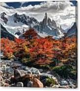 Cerro Torre 3 Canvas Print