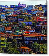 Cerro Valparaiso Canvas Print