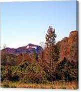 Cesars Head In The Fall Canvas Print