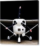 Cessna Dark Hanger Canvas Print