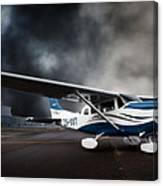 Cessna Ground Canvas Print