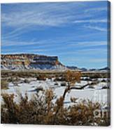 Chaco Greeting Canvas Print
