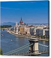 Chain Bridge Budapest Canvas Print