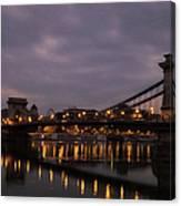 Chain Bridge Dawn Canvas Print