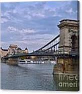Chain Bridge Canvas Print