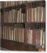 Chained Library At Hereford Cathedral Canvas Print