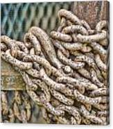 Chained Up Canvas Print