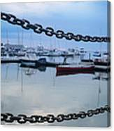 Chains Over The Water Canvas Print