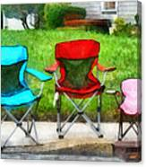 Chair Family Canvas Print