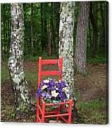 Chair Of The Grand Elf Canvas Print
