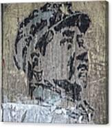 Chairman Mao Portrait Canvas Print