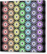 Chakra Healing Grid Canvas Print