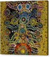 Chakra Shield Canvas Print