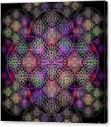 Chalice Cell Rings On Black Dk29 Canvas Print