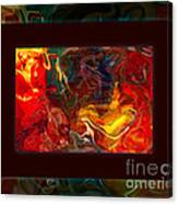 Challenges And Moments In Time Abstract Healing Art Canvas Print