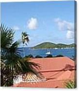 Chalotte Amalie Bay Canvas Print