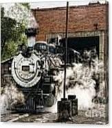 Chama Steam Canvas Print