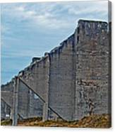 Chambers Bay Architectural Ruins Canvas Print