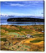 Chambers Bay Golf Course Canvas Print