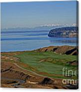 Chambers Bay Golf Course - University Place - Washington Canvas Print