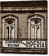 Chambres Imperial Lisbon Canvas Print