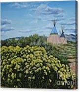 Chamisa Season Canvas Print