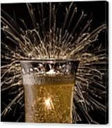 Champagne Celebration Canvas Print