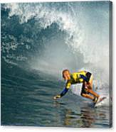 Champion At Pipeline Masters  Canvas Print