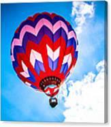Champion Hot Air Balloon Canvas Print