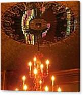 Chandelier At The Brown Palace In Denver Canvas Print