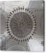 Chandelier In Goa Cathedral Canvas Print