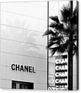 Chanel On Rodeo Drive Canvas Print