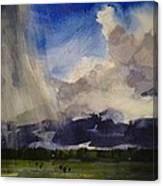 Change Of Weather Canvas Print