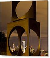 Changing Form Of Seattle Canvas Print